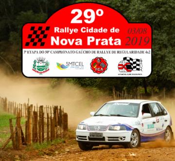 29º RALLY CIDADE DE NOVA PRATA